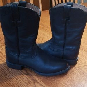 Ariat all black boots